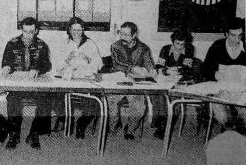 Les pionniers de la Maison de la Danse en janvier 1978 © Archives le Progrès