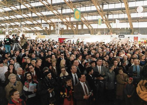 Forum des Associations 1989, 3 jours à la Halle Tony Garnier. ©Collection privé du Forum