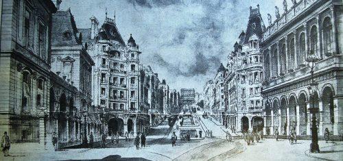 Camille Chalumeau (architecte), 1919, Extrait de la Vie Lyonnaise, édition du 26 juillet 1919, AML, 453 WP 007