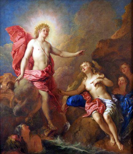 Charles de La Fosse, Apollon et Téthys, château de Versailles, photo du Musée