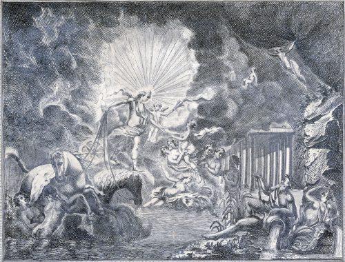 Rideau d'avant-scène de la Salle des Spectacle de Lyon, 1756, numérisation de Mohamed Graine d'après l'original, B.M.L. Chomarat_Est17629