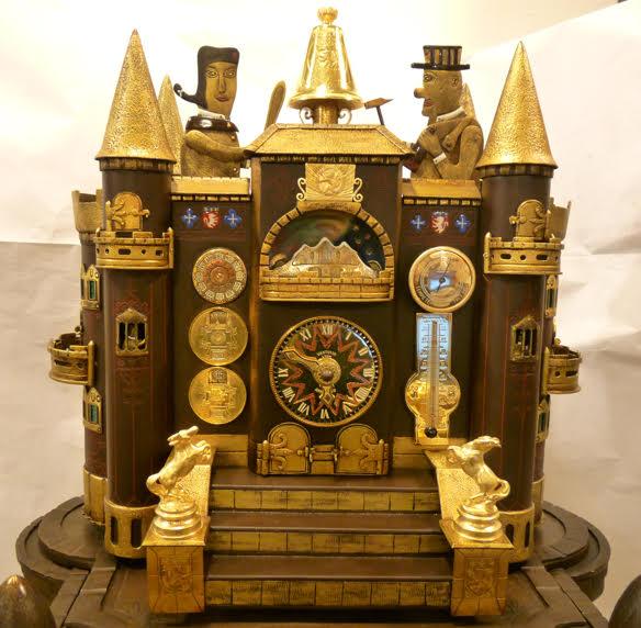 """L'Horloge """"Château aux Guignols"""" © Philippe Carry"""