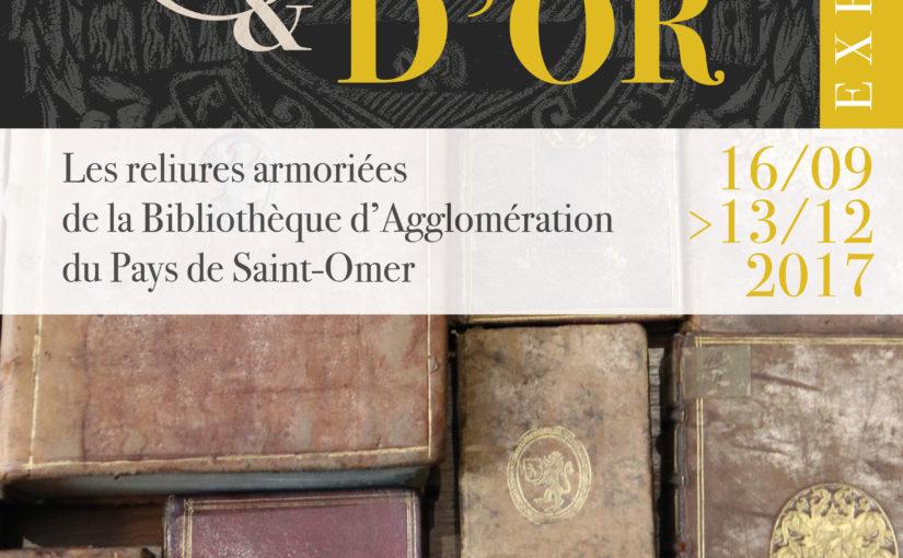 De cuir et d'or : les reliures armoriées de la bibliothèque de Saint-Omer
