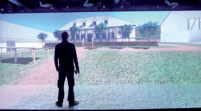 Le CReAAH recrée en 3D une plantation jésuite et son environnement en Guyane Française