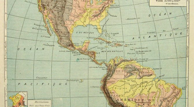 Parution: Dictionnaire des Amériques