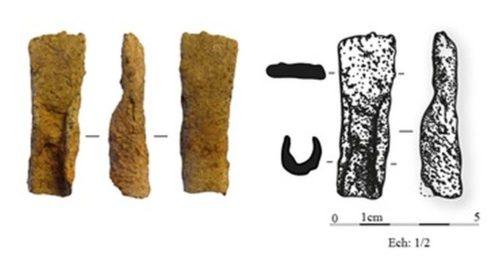 Figure 4. Griffe de templet