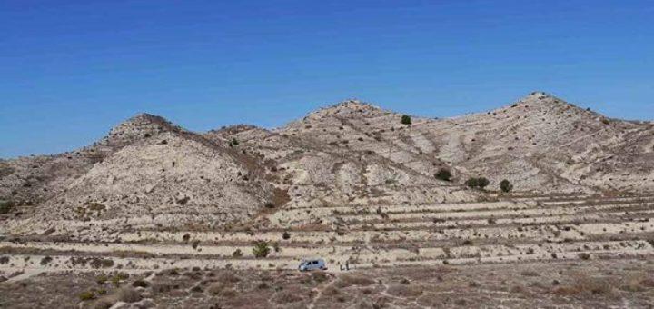 Fig. 1 - Le site de Tres Hermanas, vue du sud.