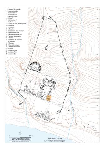 Fig. 1 - Plan général de la ville.