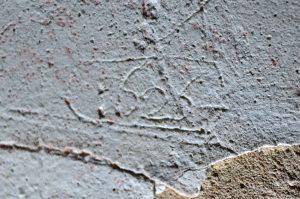 """Chronogramme """"1626"""" qui donne un terminus ante quem pour la reconstruction du clocher (© SDA 04)"""