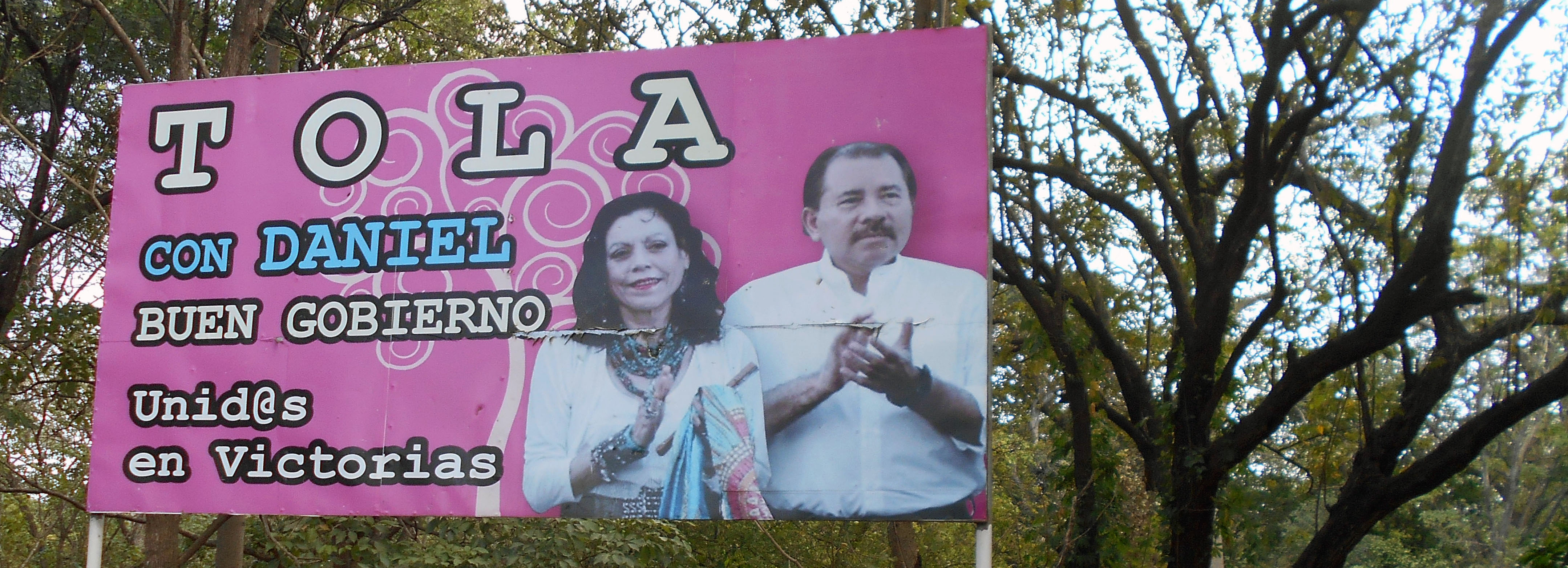 Präsidenten-Ehepaar Ortega