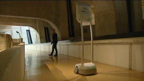 La conquête de l'ubiquité : des robots dans les musées (3)
