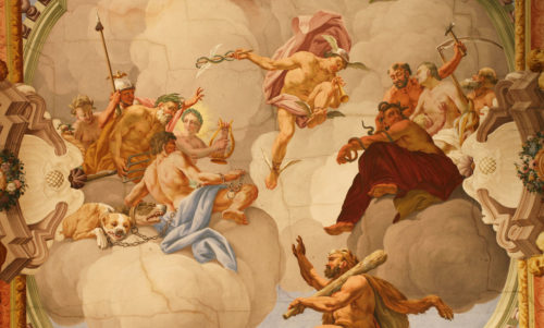 Bcpce The Research Group For Baroque Ceiling Painting In