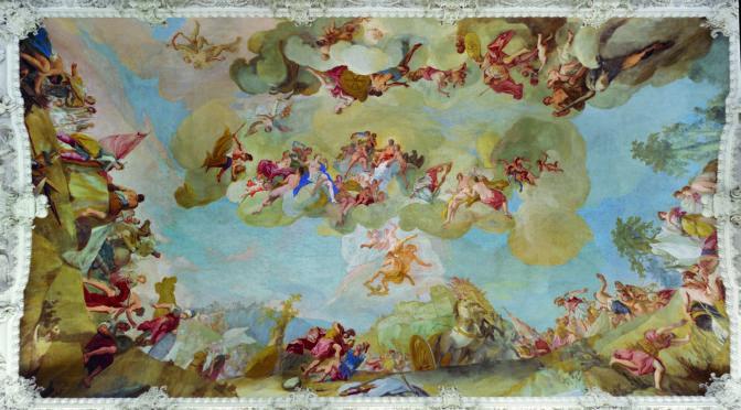 Wir sind geläutert – Zur Darstellung des Aeneas in der Wand- und Deckenmalerei um 1700