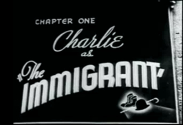 "Still aus Charlie Chaplins ""The Immigrant"" (USA 1917)"