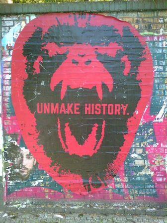 Unmake History, Stencil, Berlin (Foto: Levke Harders, 2016)