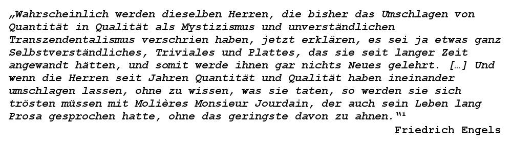 Zitat von Friedrich Engels