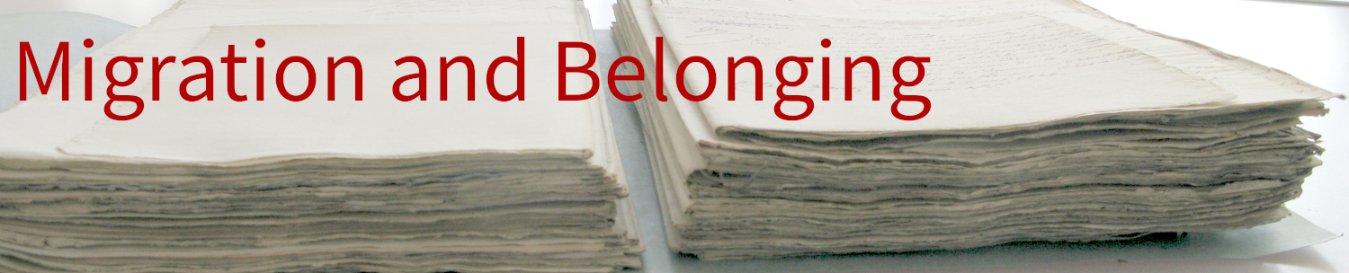 Migration and Belonging