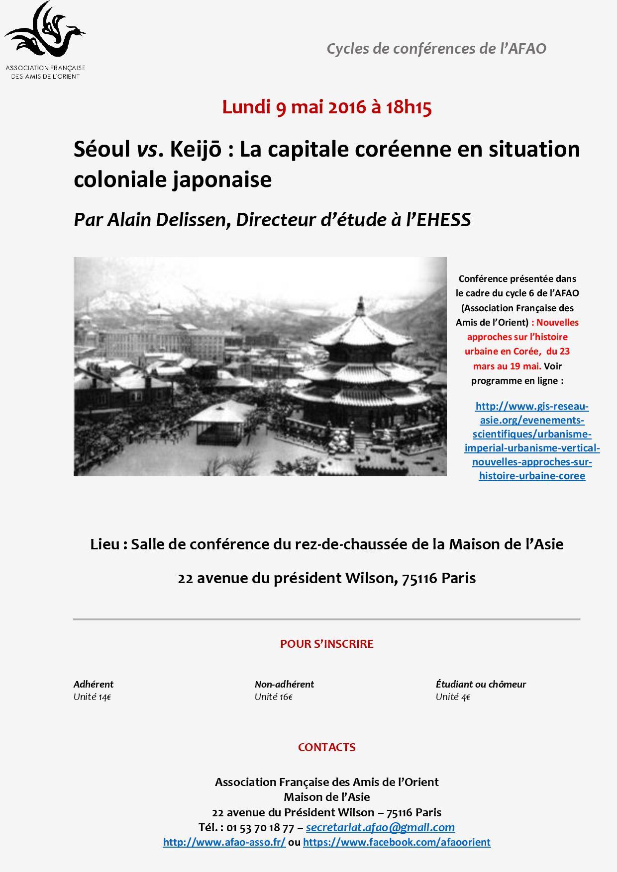 Conférence - Delissen- 9 mai - AFAO(1)