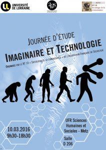 affiche Imaginaire et Technologie