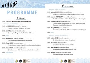 programme Imaginaire et Technologie2