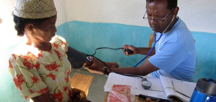 Free consultation with a Doctor of mobile health team has Madagacar