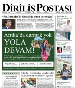 Diriliş Postası, 28/02/2015 (premier numéro)
