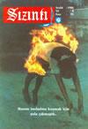 Couverture du numéro 95 du magazine Sızıntı daté de décembre 1986