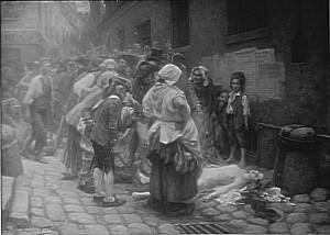 Mort de Mme de Lamballe (monochrome, 1908) © RMN/F. Vizzanova