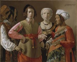 La diseuse de bonne aventure (Georges de La Tour, c.a. 1630, © MMA, dist. RMN)