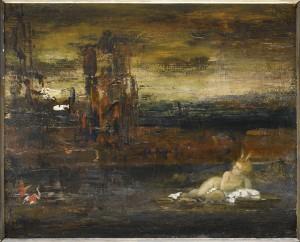 Moïse exposé sur le Nil, Gustave Moreau (XIXe s.) © RMN-GP/R.-G. Ojéda