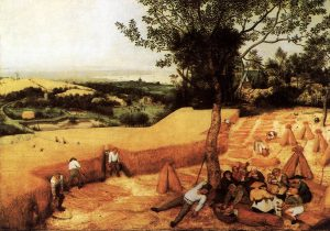 Harvest, Pieter Bruegel.