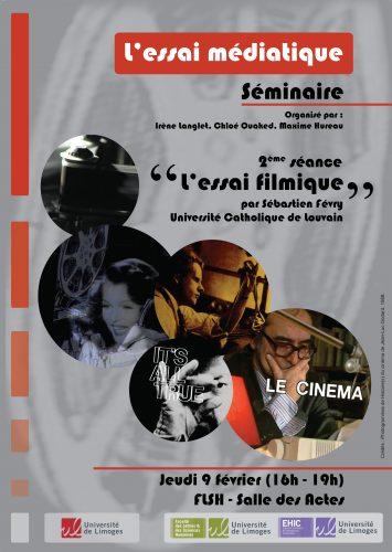Affiche essai filmique