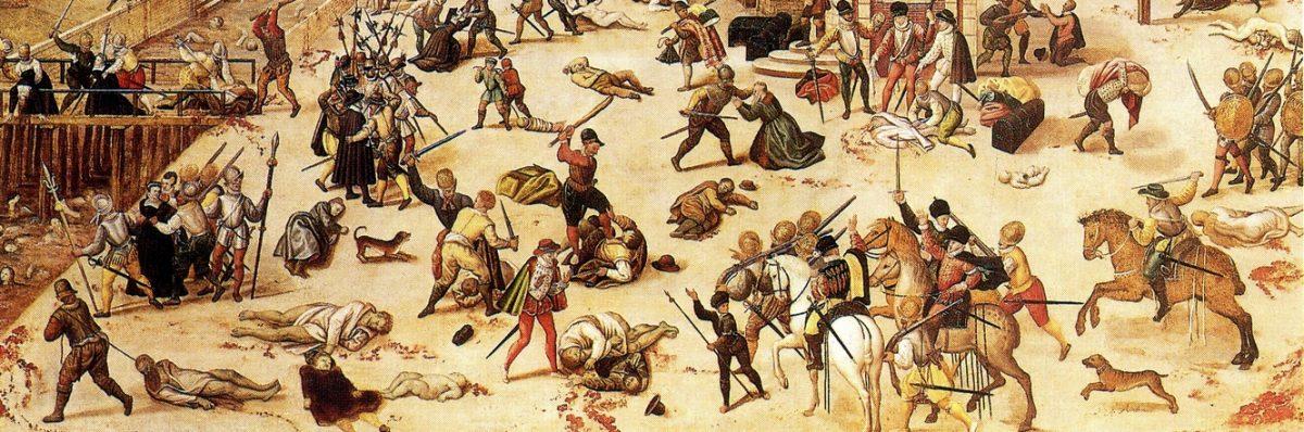 La construction de la personne dans le fait historique à l'époque des guerres de Religion