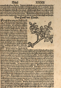 Page de l'édition allemande de l' Opus ruralium