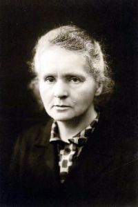 Marie Curie vers 1920