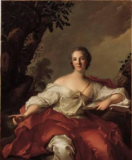 Madame Geoffrin, Jean-Marc Nattier (1738)