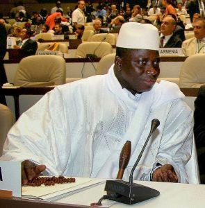 Yahya Jammer, Präsident Gambias.