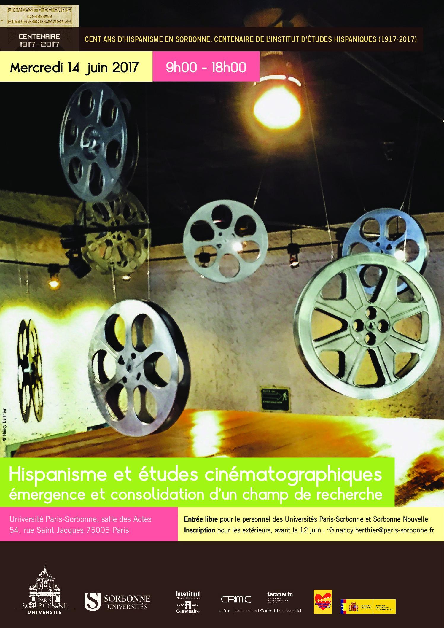 Hispanisme et études cinématographiques : émergence et consolidation d'un champ de recherche