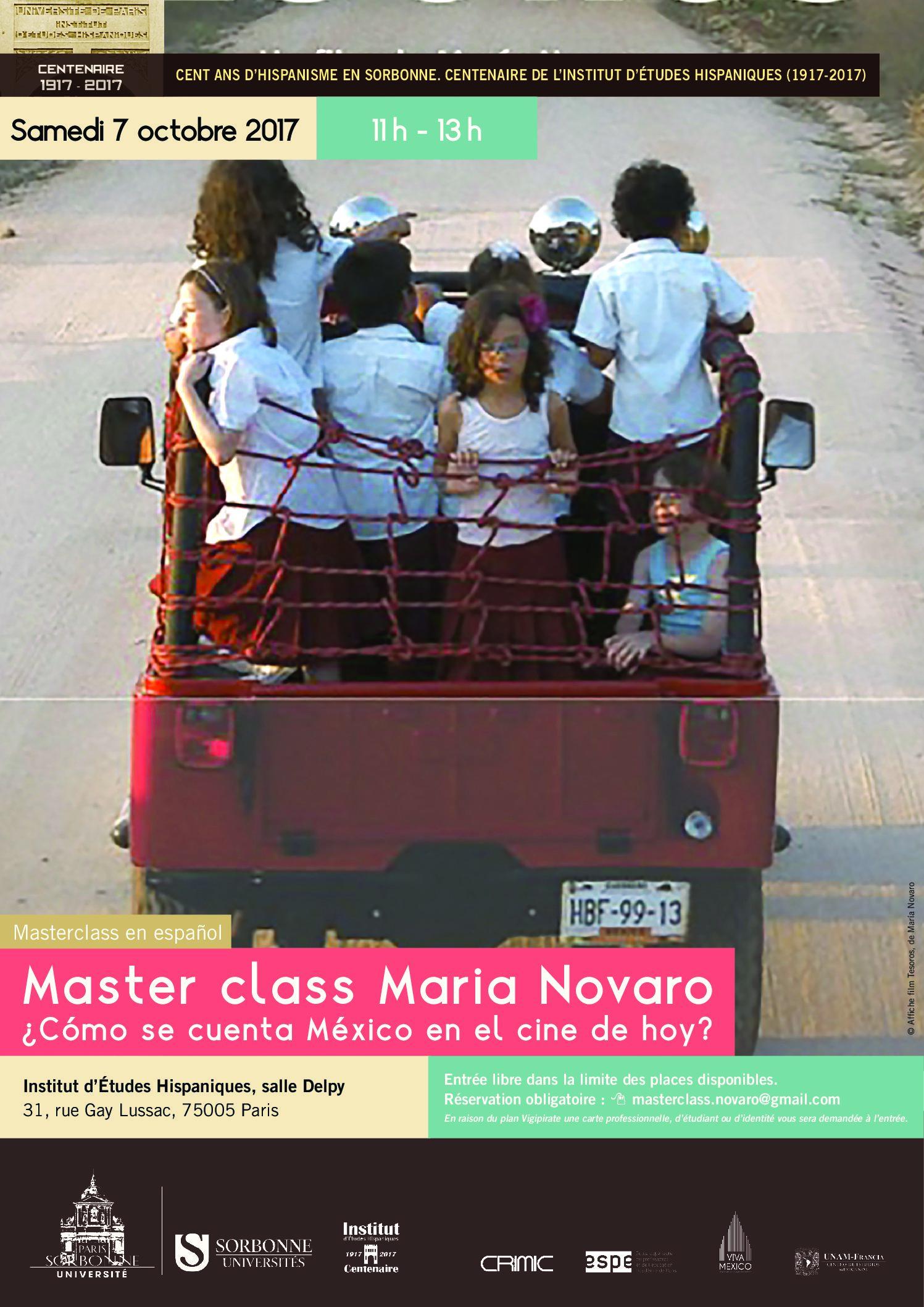 Master class María Novaro