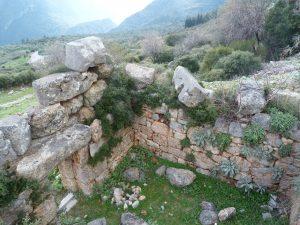 Tour d'Hagios Athanasios, Delphes