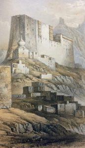 Castle of Leh in Ladakh