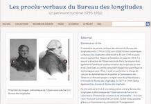Les procès-verbaux du Bureau des longitudes