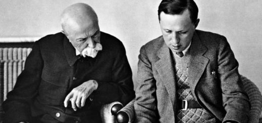 Karel Čapek and Tomáš Garrigue Masaryk