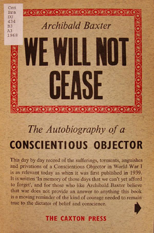 We will not cease