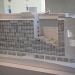 La maquette de l'unité d'habitation de Firminy.