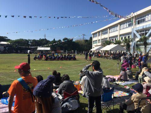 Répartition des participants en hameaux lors de la fête du sport