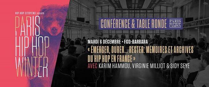 Emerger, durer, rester : mémoires et archives du hip-hop en France