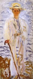 Richard Gerstl, Alexander von Zemlinsky, 1908, huile sur toile, 170x74 cm, collection particulière - DR
