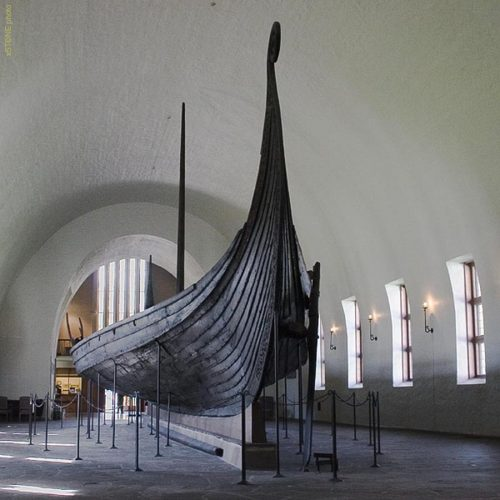 Bateau d'Oseberg, Norvège, ixesiècle