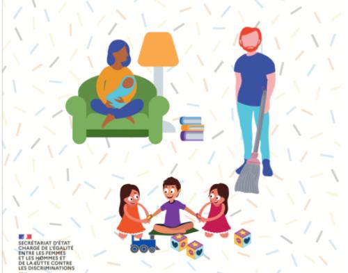 Secrétariat d'Etat chargé de l'égalité entre les femmes et les hommes et de la lutte contre les discriminations. Guide des parents confinés. 50 astuces de pro.